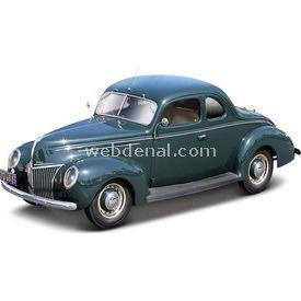 Maisto Ford Deluxe Tudor 1939 1:18 Model Araba S/e Yeşil Arabalar
