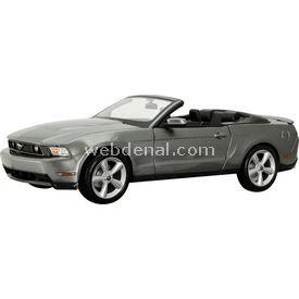 Maisto Ford Mustang Gt Convertible 2010 1:18 Model Araba S/e Gri Arabalar
