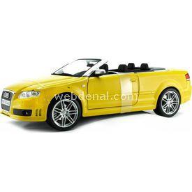 Maisto Audi Rs4 Cabriolet 1:18 Model Araba S/e Sarı Arabalar