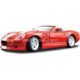 Maisto Shelby Series I 1:18 Model Araba S/e Kırmızı Arabalar