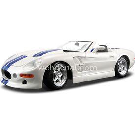 Maisto Shelby Series 1:18 Model Araba S/e Beyaz Arabalar