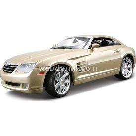 Maisto Chrysler Crossfire 1:18 Model Araba S/e Gold Arabalar
