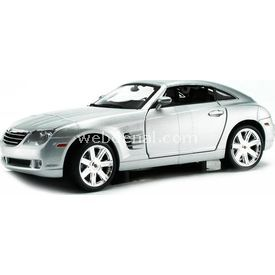 Maisto Chrysler Crossfire 1:18 Model Araba S/e Gümüş Arabalar