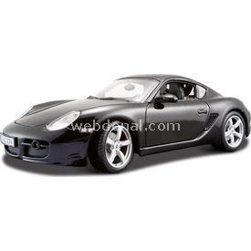 Maisto Porsche Cayman S 1:18 Model Araba S/e Siyah Arabalar