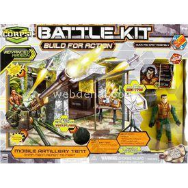 Lanard The Corps Battle Kit Asker Ve Araç Set Figür Oyuncaklar