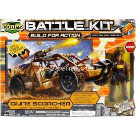 Lanard The Corps Maket Kit Asker Ve Araç Seti Figür Oyuncaklar