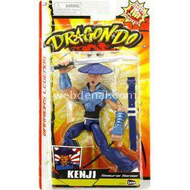 Lanard Dragon-do Kenji Samurai Ustası 15 Cm Figür Figür Oyuncaklar