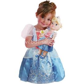Jakks Pacific Disney Prenses Cinderella Kostümlü Ve Bebek Seti 2 - 4 Yaş Bebekler