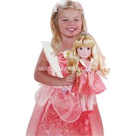 Jakks Pacific Disney Prenses Uyuyan Güzel Kostümlü Ve Bebek Set 2-4 Yaş Bebekler