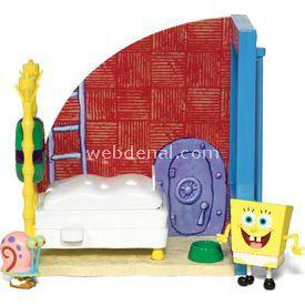 Jakks Pacific Sünger Bob Krusty Krab Restaurant Erkek Çocuk Oyuncakları