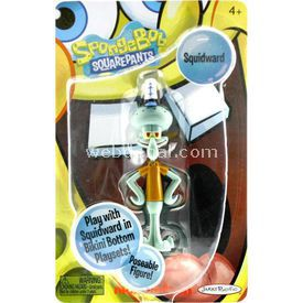 Jakks Pacific Sponge Bob Squidward Figür Figür Oyuncaklar
