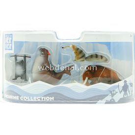 Necotoys Ice Age 4 4'lü Figür Seti 8 Cm Figür Oyuncaklar
