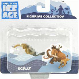 Necotoys Ice Age 4 Scrat Figür 8 Cm Figür Oyuncaklar