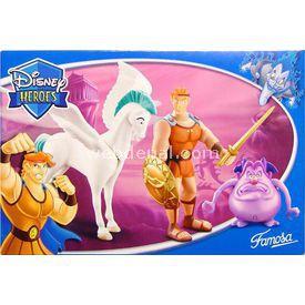 Necotoys Disney Heroes Herkül Ve Scorpion Figür Oyuncaklar