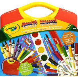 Crayola Süper Sanat Seti Sarı Kutu Eğitici Oyuncaklar