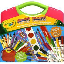 Crayola Süper Sanat Seti Yeşil Kutu Eğitici Oyuncaklar
