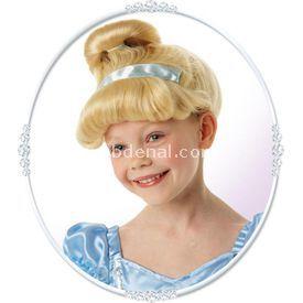 Rubies Disney Lisanslı Prenses Cinderella Peruk Kostüm & Aksesuar