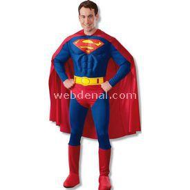 Rubies Superman Yetişkin Kostüm Small Kostüm & Aksesuar