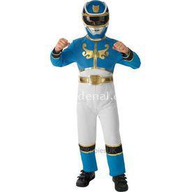 Rubies Power Rangers Mavi Çocuk Kostümü 5-6 Yaş Kostüm & Aksesuar