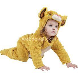 Rubies Aslan Kral Bebek Kostüm 1-2 Yaş Kostüm & Aksesuar