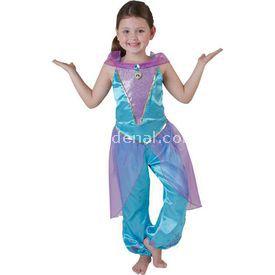 Rubies Prenses Jasmine Çocuk Kostüm 5-6 Yaş Royale Kostüm & Aksesuar