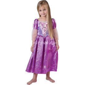 Rubies Rapunzel Çocuk Kostüm 3-4 Yaş Royale Kostüm & Aksesuar