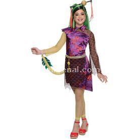 Rubies Monster High Jinafire Long Kız Çocuk Kostümü 4-6 Yaş Kostüm & Aksesuar