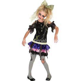 Rubies Zombi Kız Çocuk Kostümü 12-14 Yaş Kostüm & Aksesuar