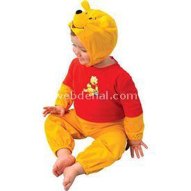 Rubies Winnie The Pooh Kostüm 2-3 Yaş Kostüm & Aksesuar