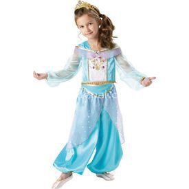 Rubies Jasmine Çocuk Kostüm Sparkle 5-6 Yaş Kostüm & Aksesuar