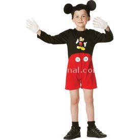Rubies Mickey Mouse Klasik Çocuk Kostüm 3-4 Yaş Kostüm & Aksesuar