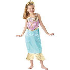 Rubies Deniz Kızı Prenses Ariel Sparkle Çocuk Kostüm 3-4 Yaş Kostüm & Aksesuar