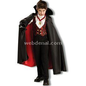 Rubies Vampir Çocuk Kostümü Lüks 4-6 Yaş Kostüm & Aksesuar