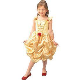 Rubies Prenses Belle Çocuk Kostüm Klasik 5-6 Yaş Kostüm & Aksesuar