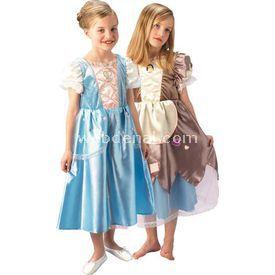 Rubies Prenses Cinderella Çocuk Kostüm Platinium 5-6 Yaş Kostüm & Aksesuar