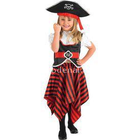 Rubies Korsan Kız Çocuk Kostüm 5-6 Yaş Kostüm & Aksesuar