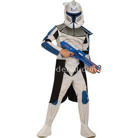 Rubies Clone Trooper Captain Rex Kostüm Lüks 4-6 Yaş Kostüm & Aksesuar
