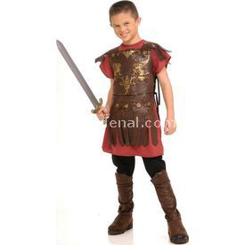 Rubies Gladyatör Savaşçı Çocuk Kostüm 3-4 Yaş Kostüm & Aksesuar