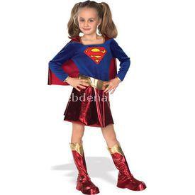Rubies Super Girl Lüks Kız Çocuk Kostümü 4-6 Yaş Kostüm & Aksesuar