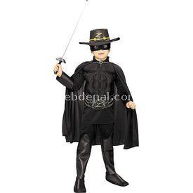 Rubies Zorro Lüks Çocuk Kostüm 12-14 Yaş Kostüm & Aksesuar