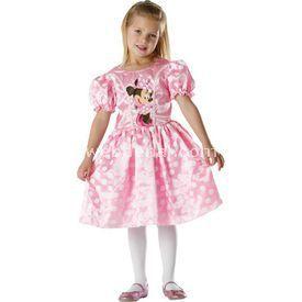 Rubies Minnie Pembe Klasik Çocuk Kostüm 5-6 Yaş Kostüm & Aksesuar