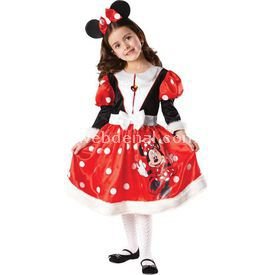 Rubies Minnie Mouse Çocuk Kostüm 7-8 Yaş Wonderland Kostüm & Aksesuar