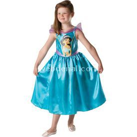 Rubies Prenses Jasmine Klasik Çocuk Kostüm 3-4 Yaş Kostüm & Aksesuar
