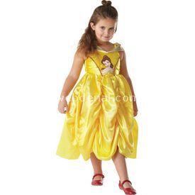 Rubies Prenses Belle Klasik Golden Çocuk Kostüm 5-6 Yaş Kostüm & Aksesuar