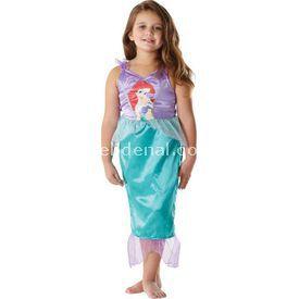 Rubies Deniz Kızı Prenses Ariel Klasik Çocuk Kostüm 5-6 Yaş Kostüm & Aksesuar
