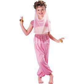 Rubies Harem Kizi Kostüm Klasik 8-10 Yaş Kostüm & Aksesuar