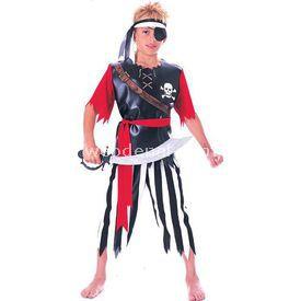 Rubies Korsan Çocuk Kostüm 12-14 Yaş Kostüm & Aksesuar