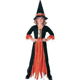 Rubies Cadı Klasik Çocuk Kostüm 8-10 Yaş Kostüm & Aksesuar