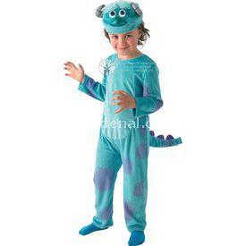 Rubies Monster Sully Çocuk Kostüm Lüks 3-4 Yaş Kostüm & Aksesuar