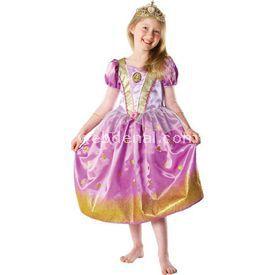 Rubies Rapunzel Çocuk Kostüm 3-4 Yaş Glitter Kostüm & Aksesuar